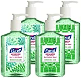 Purell 9674-06-ECDECO Advanced  Design Series Hand Sanitizer  8 oz Bottles (Pack of 4)