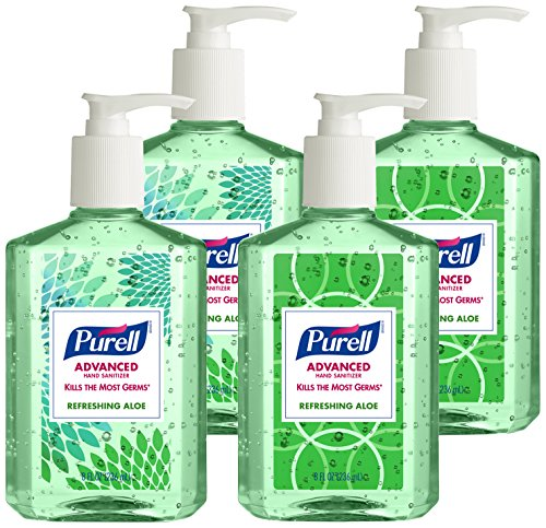 purell-9674-06-ecdeco-advanced-design-series-hand-sanitizer-8-oz-bottles-pack-of-4