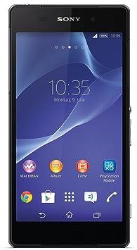 Sony Xperia Z2 - Smartphone Android (ecran 5.2 pouces, appareil photo 20.7 Mp, 16 GB, Quad-Core 2.3 GHz, 3 GB RAM) - Noir [import Europe]