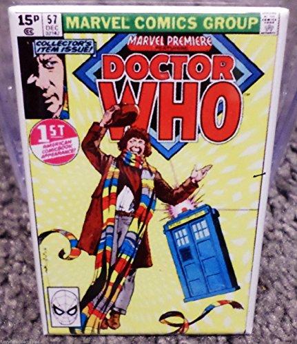Doctor Who #57 Vintage Comic Cover 2 x 3 Refrigerator or Locker MAGNET TARDIS (Tardis Fridge Cover compare prices)