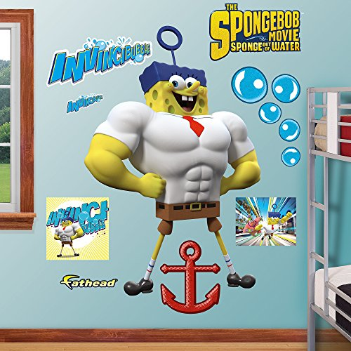 Fathead SpongeBob Invincibubble Vinyl Decals
