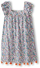 Hatley Little Girls39 Sleeve Dress ToddlerKid - Botanical Flowers