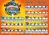 Skylanders Giants Figure Poster 21&quot; X 15&quot;