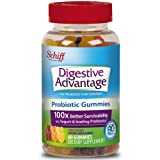 Digestive Advantage Strawberry Daily Probiotic Gummies - Survives Better than 50 Billion - 60 count (Tamaño: 60 Count - Strawberry)