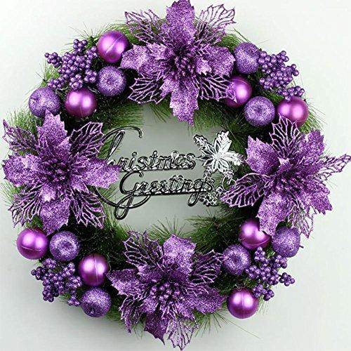 YUYU Ciondoli d'attaccatura di Natale decorazione ghirlanda vetrina hotel arcade di shopping , 1