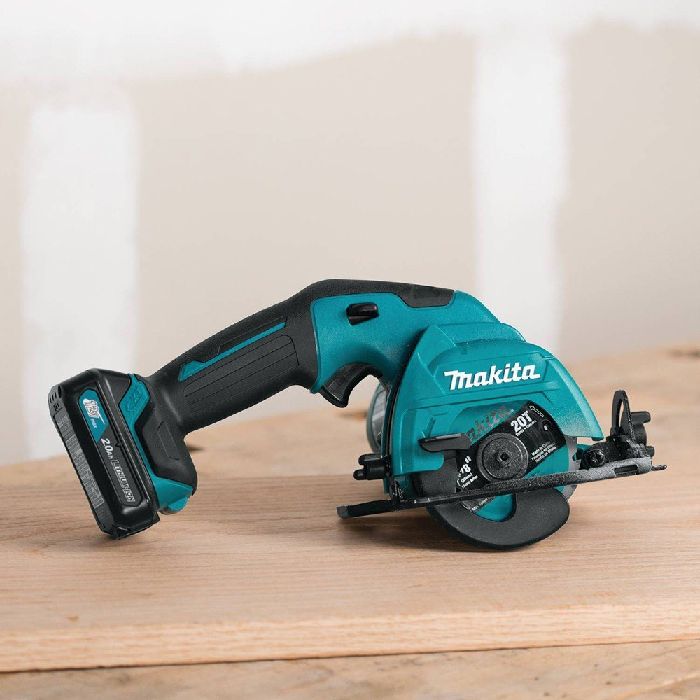Makita SH02R1 12V Max CXT Lithium-Ion Cordless Circular Saw Kit, 3-3/8""