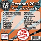 All Star Karaoke October 2012 Pop and Country Hits A (ASK-1210A)