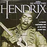 JIMI HENDRIX. 10 TRACKS LIVE AT THE ALBERT HALL. 2006 SUNDAY TIMES ONLY CD