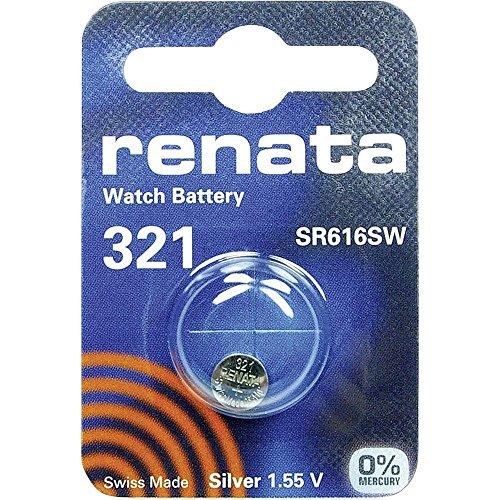 321 (SR616SW) Batterie de Pièces de Monnaie / Oxyde D'argent 1.55V / pour Les Montres, Torches, Clés de Voiture, Calculatrices, Appareils Photo, etc / iCHOOSE