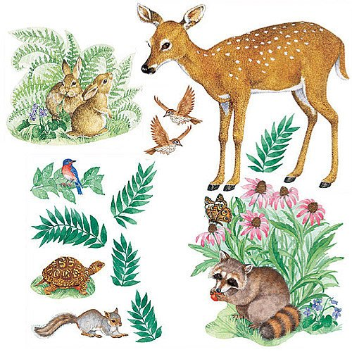 Animal Murals For Kids