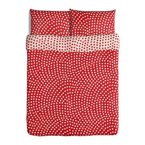 Ikea Stenklover Duvet Cover And Pillowcases Full Queen
