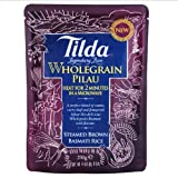 Tilda Steamed Basmati Wholegrain Pilau Rice 250g