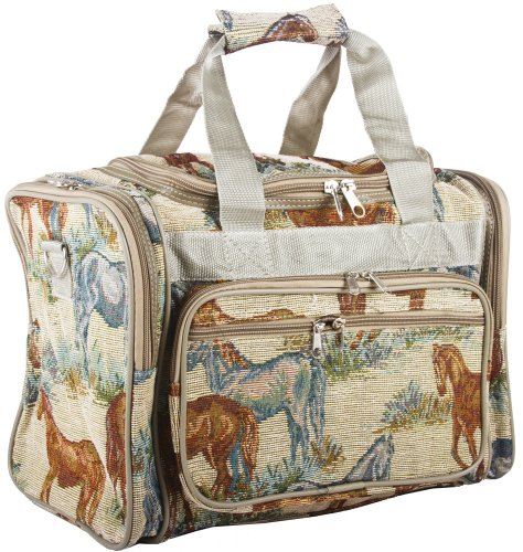 Horse Tapestry Duffle Carrying Bag - 16