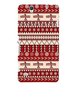 Multi Design Pattern Cute Fashion 3D Hard Polycarbonate Designer Back Case Cover for Sony Xperia C4 Dual :: Sony Xperia C4 Dual E5333 E5343 E5363