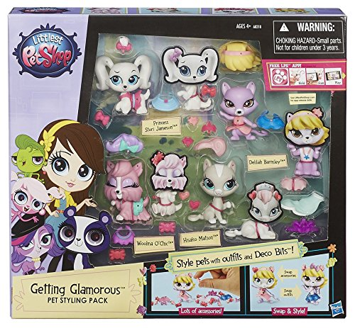 Littlest Pet Shop Getting Glamorous Pet Styling Pack jetzt kaufen