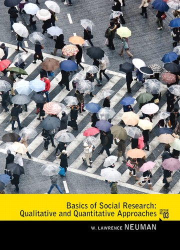 Basics of Social Research: Qualitative and Quantitative...
