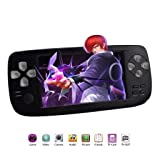 YXJGXX Game Controller, 4.3-Inch Hd Console Game Console 32-Bit Handheld Portable Game Console K3 Console (Color: Black)