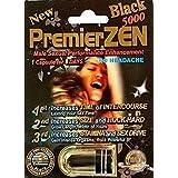 PremierZEN Black 5000 Male Sexual Enhancement Pill, 1 pill fpr 7 days