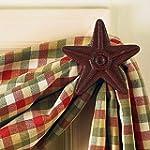 Park Designs Cast Star Curtain Hooks,...