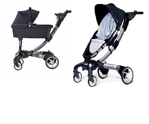 4moms origami travel system stroller wbassinet self