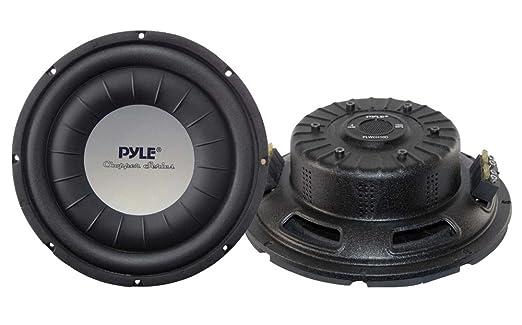 """Pyle PLWCH10D 10 """"Ultra Slim 1000W caisson de basses DVC"""