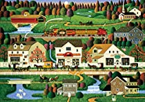 Buffalo Games Yankee Wink Hollow by Charles Wysocki from The Americana Collection Jigsaw Puzzle (500 Piece)