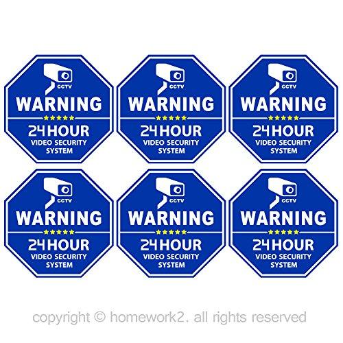 cctv-video-surveillance-security-door-window-stickers-blue-octagon-shaped-33-x-33-inch-vinyl-decals-