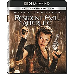 Resident Evil: Afterlife [4K Ultra HD + Blu-ray]
