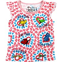 """Dr. Seuss """"One Fish, Two Fish"""" Pink Infant T-Shirt (18M)"""