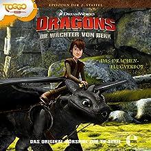 Das Drachenflugverbot Dragons (Die Wächter von Berk 1) (       ungekürzt) von Thomas Karallus Gesprochen von: Wolf Frass, Konrad Bösherz, Hannes Maurer, Nico Sablik, Karl Schulz