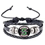 Mainstreet247 Riverdale South Side Serpents Glass Domed Symbol Braided Bracelet