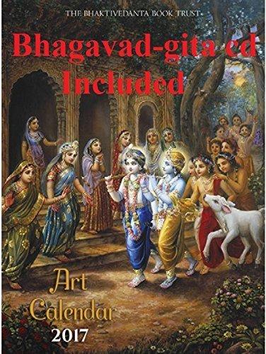 Hindu Gods & Goddesses 2017 Wall Calendar (Calendar & Bhagavad-gita CD)