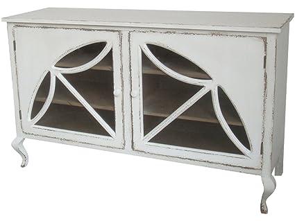Diseño armario con dos puertas y tapa de cristal