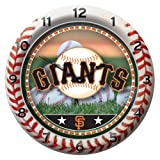 MLB San Francisco Giants Game Time Clock at Amazon.com