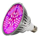 100W Led Grow Light Bulbs Full Spectrum,150 LEDs indoor plant growing lights Lamp for Vegetable Greenhouse Hydroponic, E26 Indoor Grow Light AC 85~265V (Tamaño: 100W)