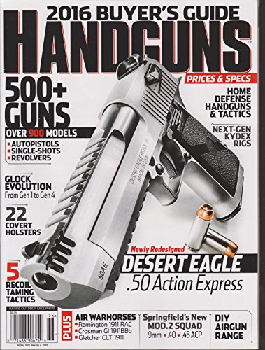 Harris Outdoor Group Presents Handguns 2016 Buyer's Guide PDF