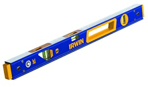 IRWIN Tools 2000 Box Beam Level, 24-Inch (1794075) (Color: Blue, Tamaño: 24-inch)
