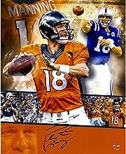 "Peyton Manning Denver Broncos Autographed 16"" x 20"" Collage Photograph - Fanatics Authentic Certified"
