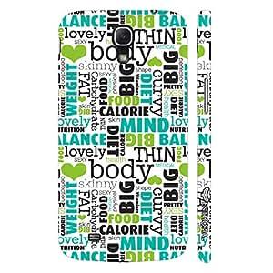 Samsung Mega 6.3 i9200 Body Mind Balance designer mobile hard shell case by Enthopia