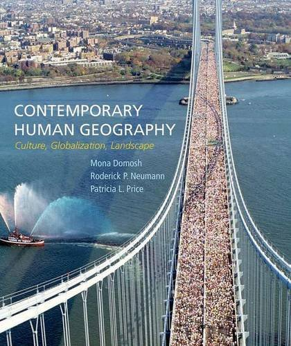 Contemporary Human Geography: Culture, Globalization, Landscape PDF