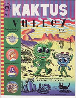 KAKTUS VALLEY: Gary Panter: Amazon.com: Books