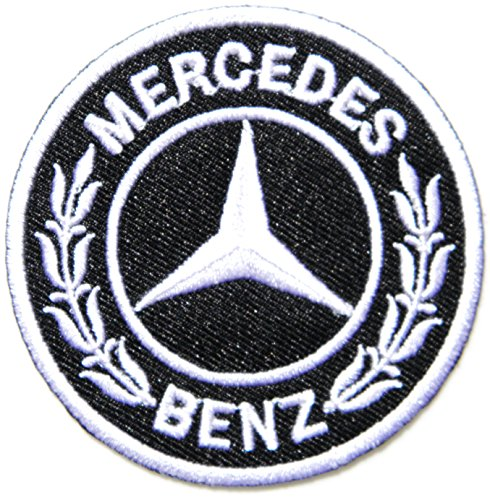 Mercedes Benz Logo Sign AMG Sport Car Racing Patch Sew Iron on Applique Embroidered T shirt Jacket BY SURAPAN (Mercedes Benz C300 Parts compare prices)