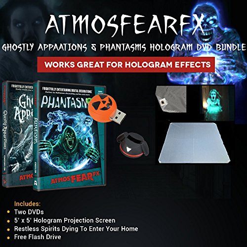 Atmosfearfx-Ghostly-Apparitions-Phantasms-DVD-Bundle-with-Hologram-Screen-and-a-Pumpkin-Flash-Drive