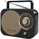 Studebaker Portable AM/FM Radio (Color: Black)