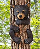 Whimsical Animal Tree Hugger Outdoor Decor Yard Garden Decoration (bear)