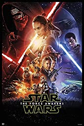 Star Wars: Episode VII - The Force Awakens - Movie Poster / Print (Regular Style) (Size: 27\