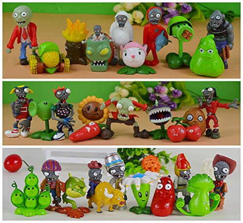 Judy Dre am 30 X Plants Vs Zombies Grouptoys Series Game Role Figures Display Toy PVC Decorations Ruggedness Doll for Kids Gift (Plants Vs Zombies Toys Figures compare prices)