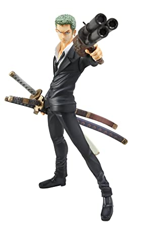 One Piece - P.O.P. - Strong Edition Statuette/ Figurine: Roronoa Zoro Version 2