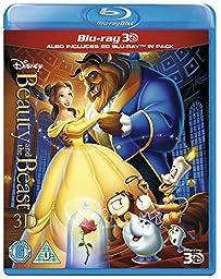 Beauty And The Beast [Blu-ray 3D + Blu-ray] [Region Free]  [UK Import]
