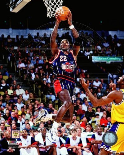 Clyde Drexler Houston Rockets NBA Action Photo 8x10 by NBA [並行輸入品]